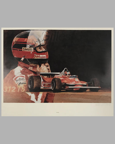 Gilles by Bill Neale - 1980 - Signed and numbered print, ed. of 500
