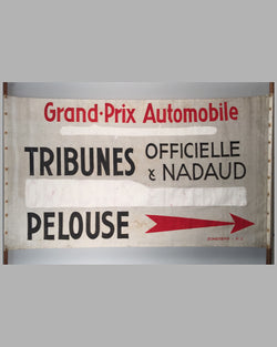 Grand Prix du Cinquantenaire cloth banner