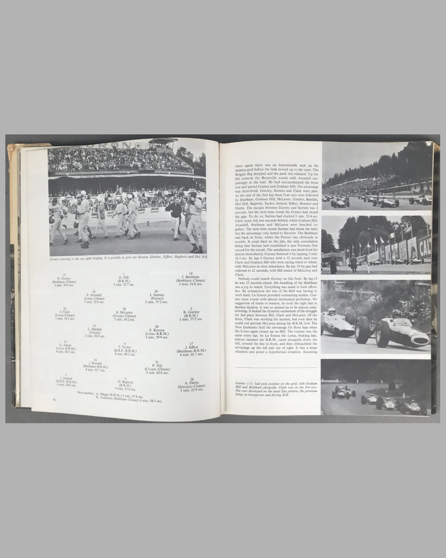Grand Prix - World Championship 1964 book by Louis T. Stanley 4