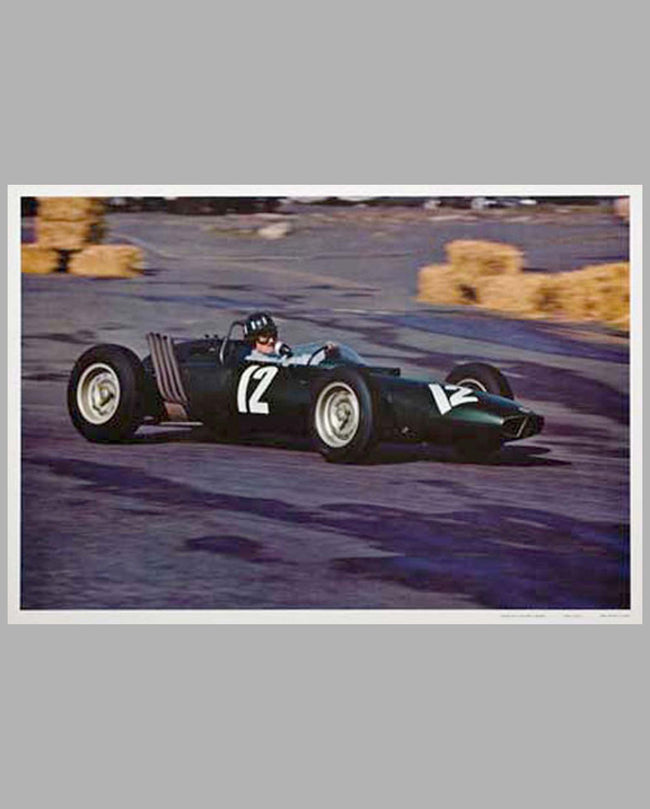 Graham Hill photographic print by Henry Manney III
