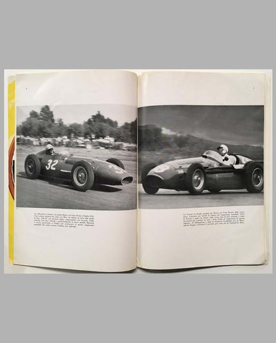 28th Grand Prix of Italy 1957 race program in Monza interior