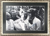 1962 Grand Prix of Rouen Autographed Photograph Showing Dan Gurney & Phil Hill