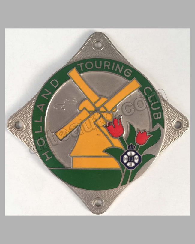 Holland Touring Club Grill badge, 1950's