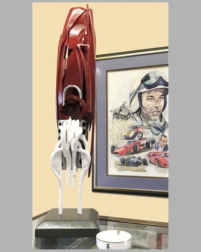 Ferrari F1 sculpture by Dennis Hoyt, 1 of 1 2