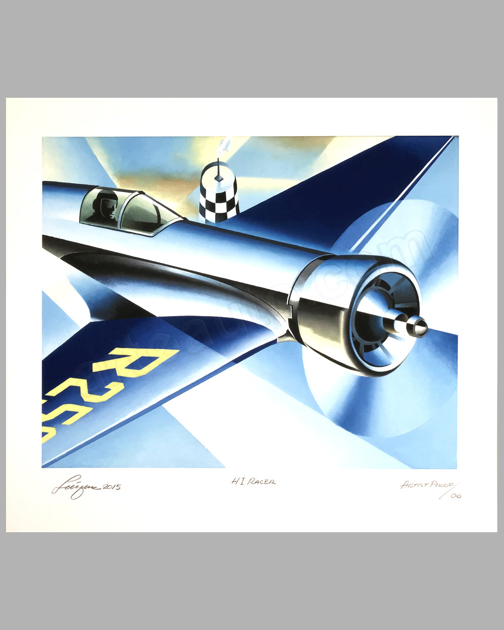 Howard Hughes H-1 Racer giclée by Alain Lévesque