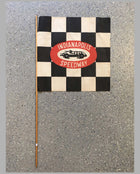 Indianapolis Speedway souvenir checkered flag, USA, 1950's