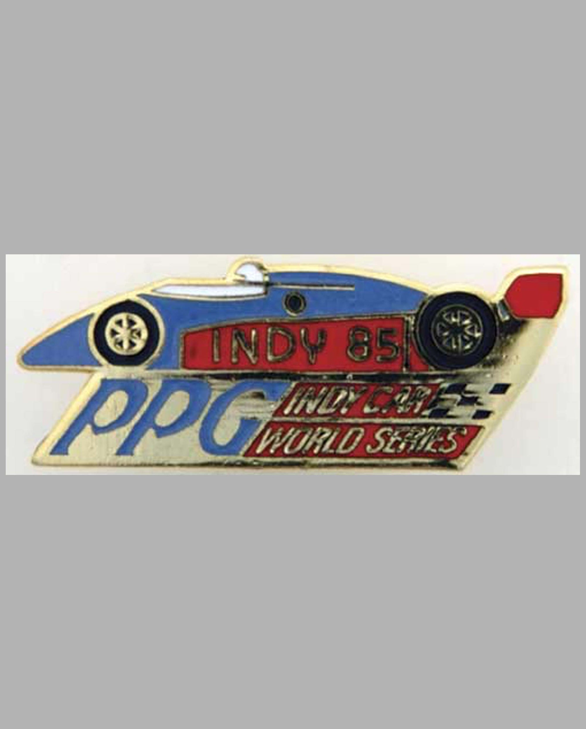 Indy 1985 PPG Indy Car Series commemorative pin