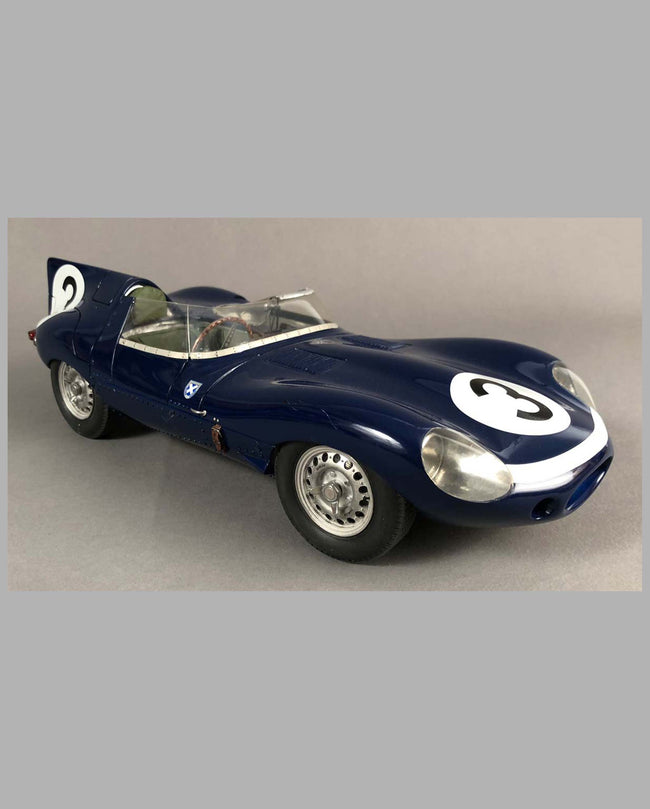 Jaguar D Type Ecurie Ecosse Model Hand-built by Jack Harper