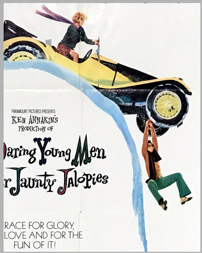 1969 original movie poster, Those Daring Young Men in Their Jaunty Jalopies 2