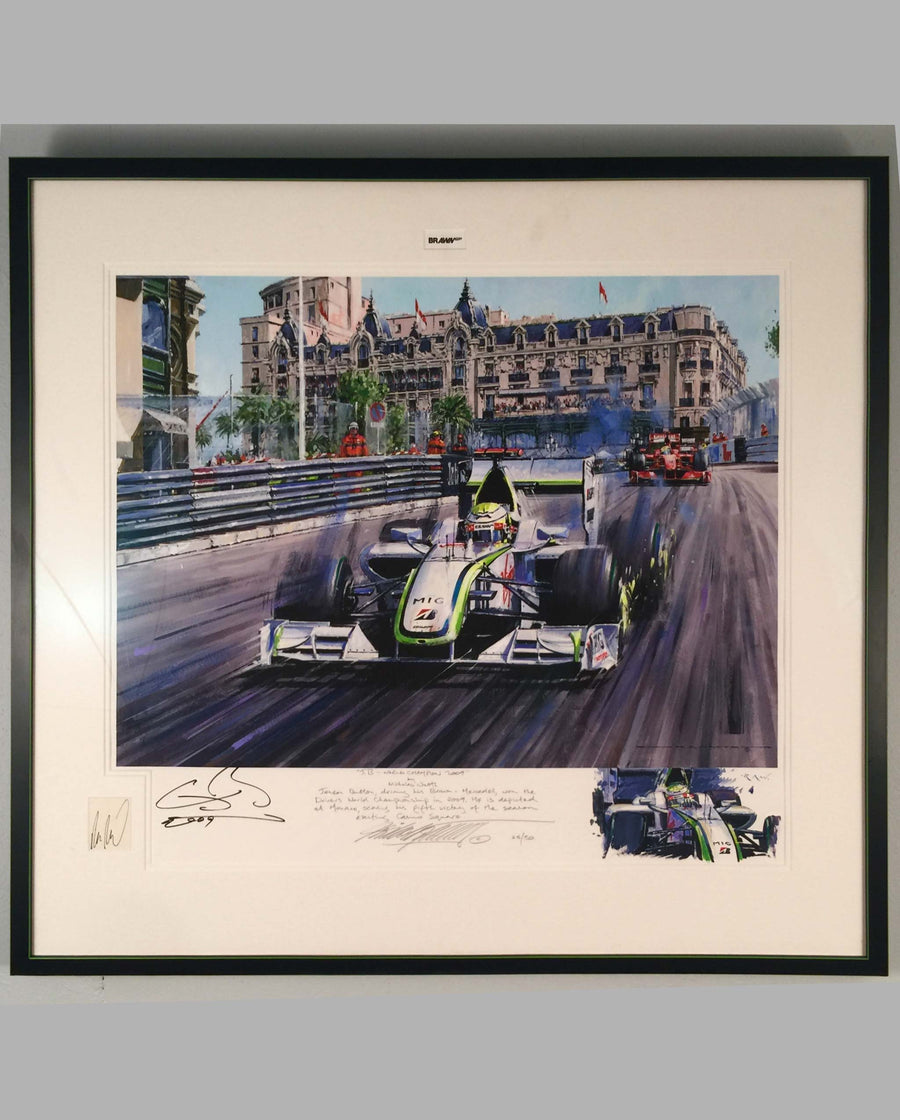 J.B. World Championship 2009 giclee by Nicholas Watts.