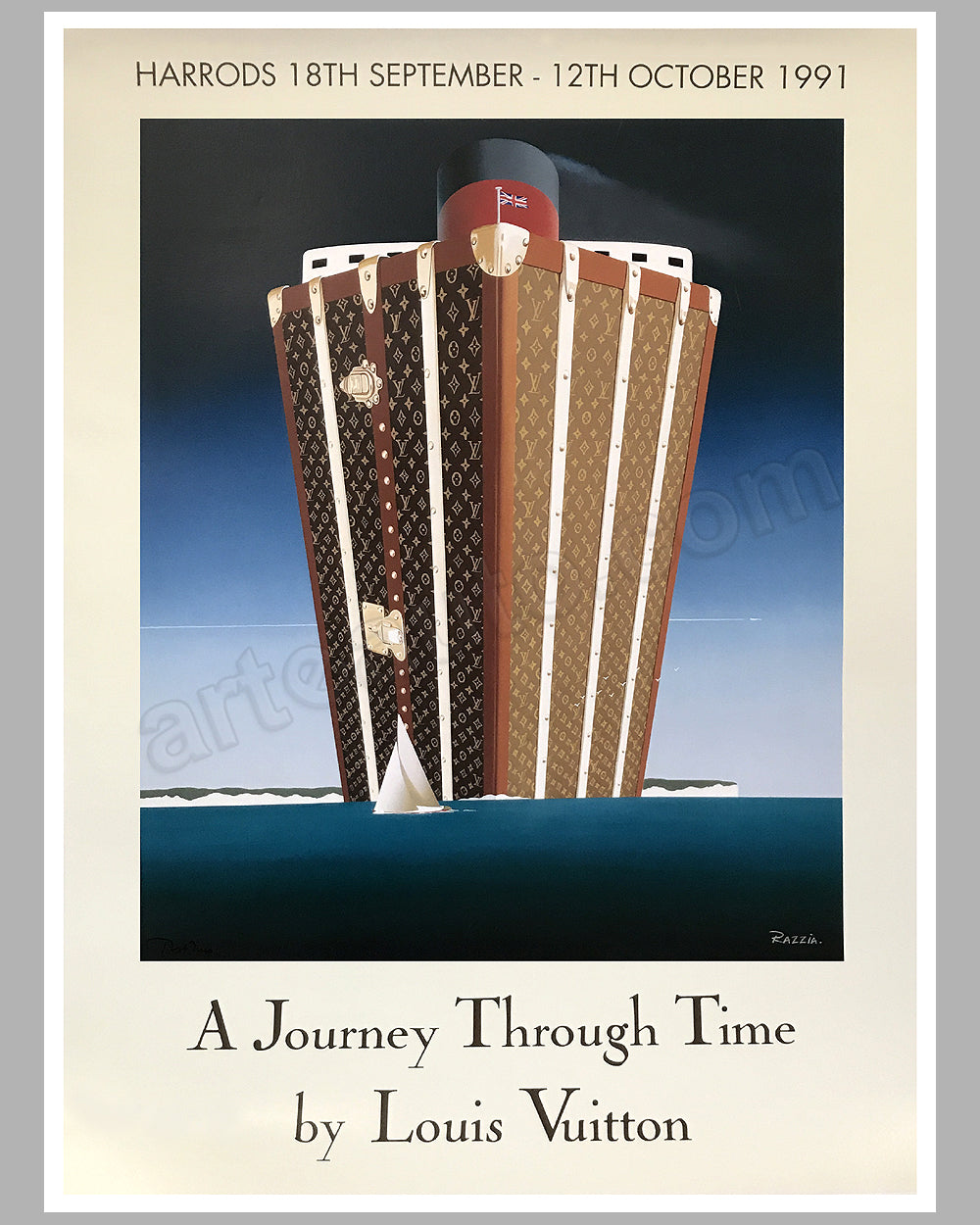 A Journey Through Time large poster by Razzia