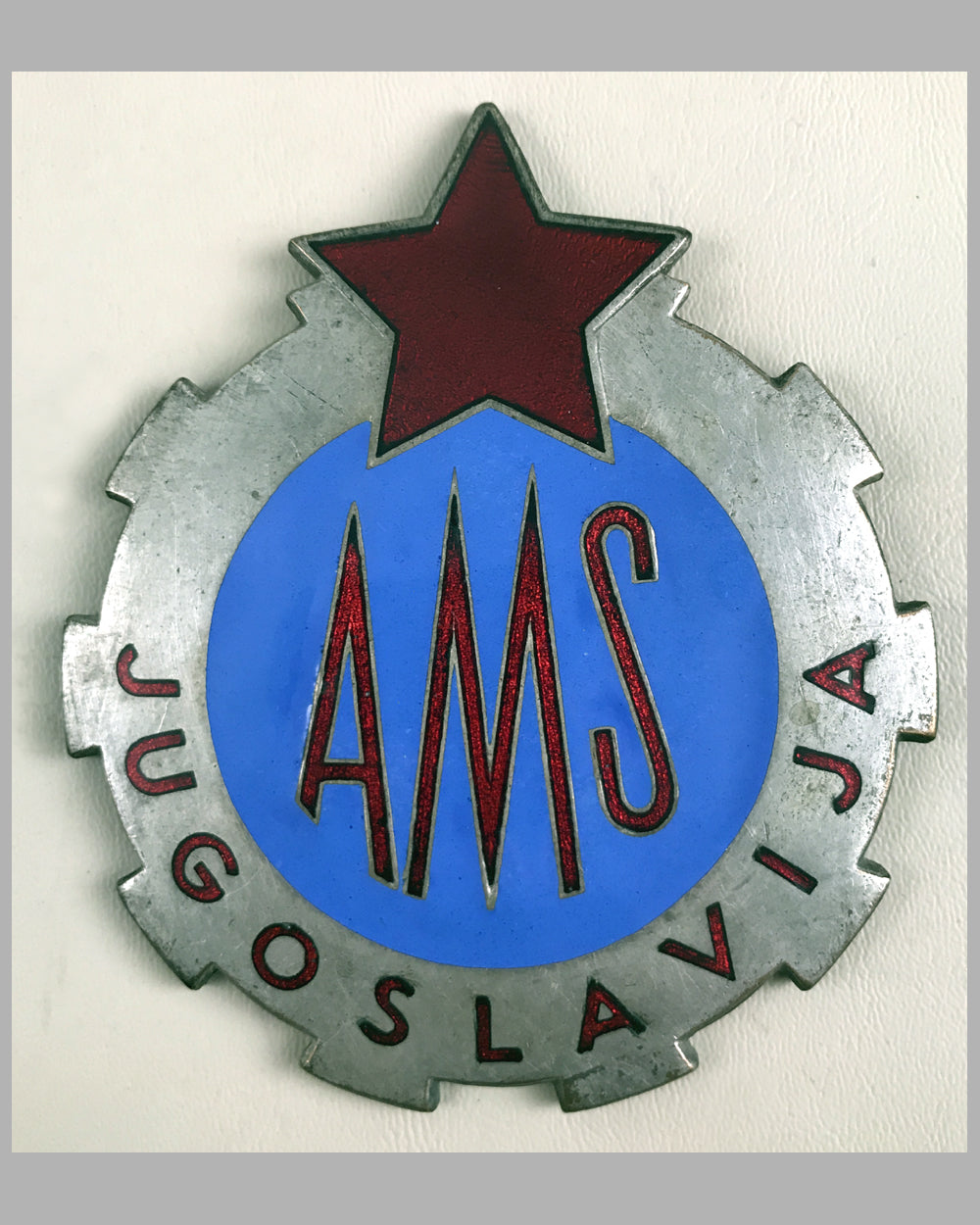 Automobile & Motorcycle Club of Yugoslavia member's grill badge