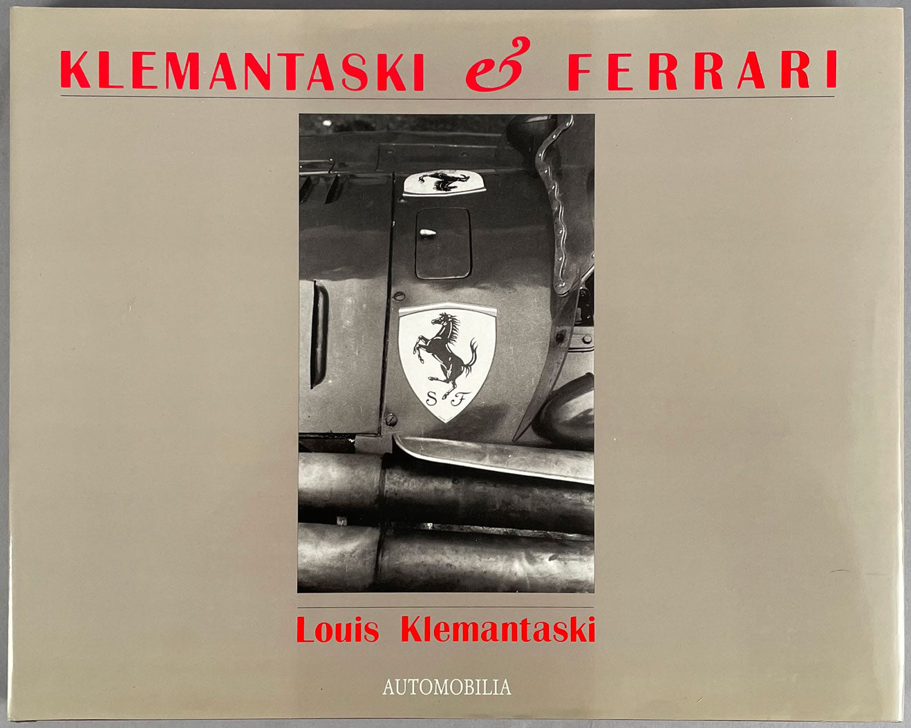 Klemantaski & Ferrari, 1st limited edition book, 1991
