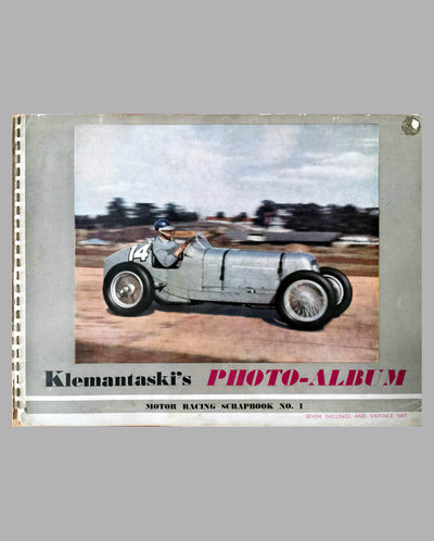 Klemantaski's Photo Album Motor racing scrapbook #1, 1947