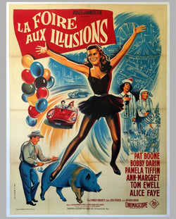 'La Foire aux Illusions' (State Fair) original large movie poster 1962