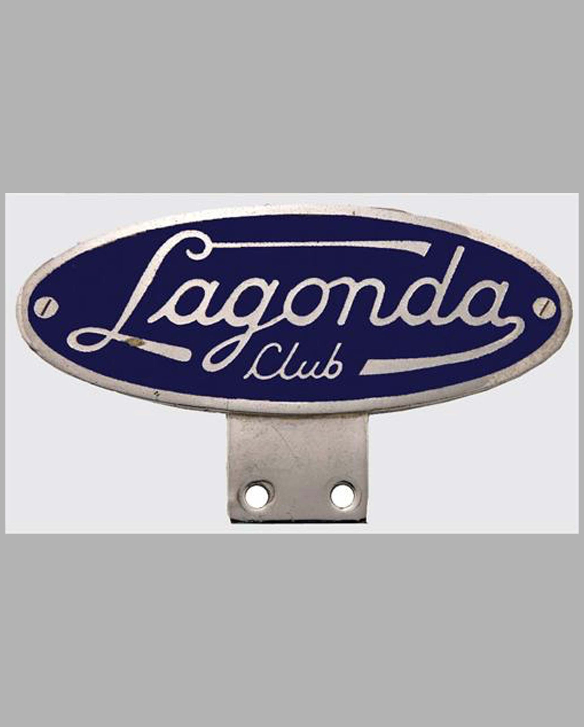 Lagonda Club bar badge, U.K.