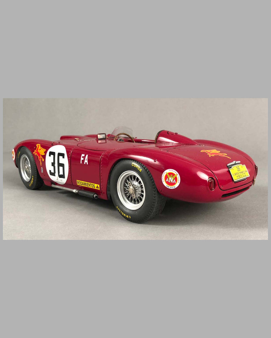Lancia D24 Model Hand-built by Jack Harper back