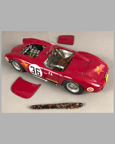 Lancia D24 Model Hand-built by Jack Harper open