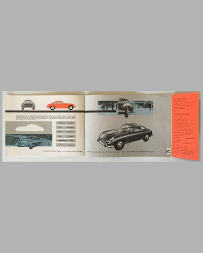 Lancia Flaminia factory sales brochure, 1958 page 2