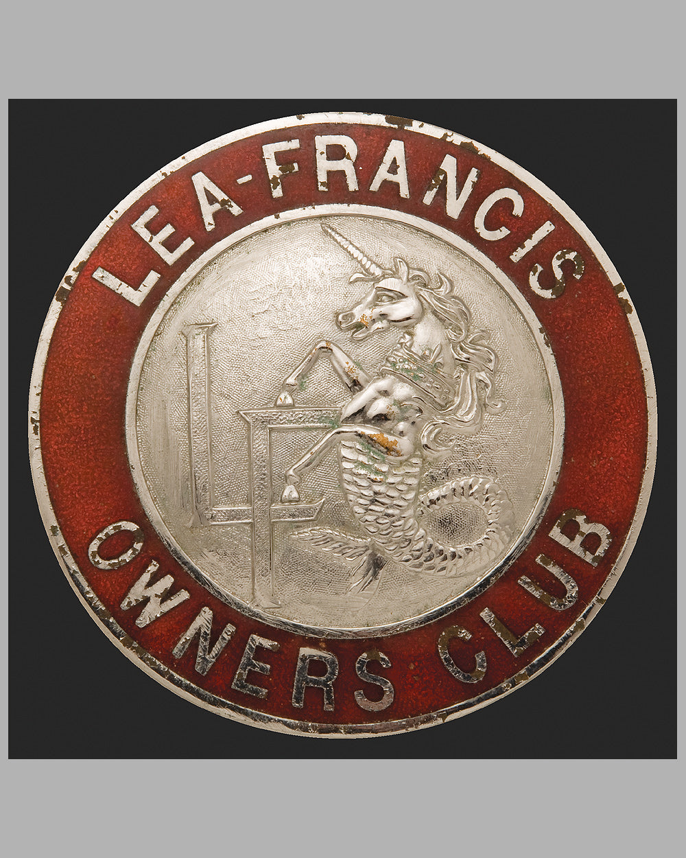 Lea - Francis Owner's Club member's badge