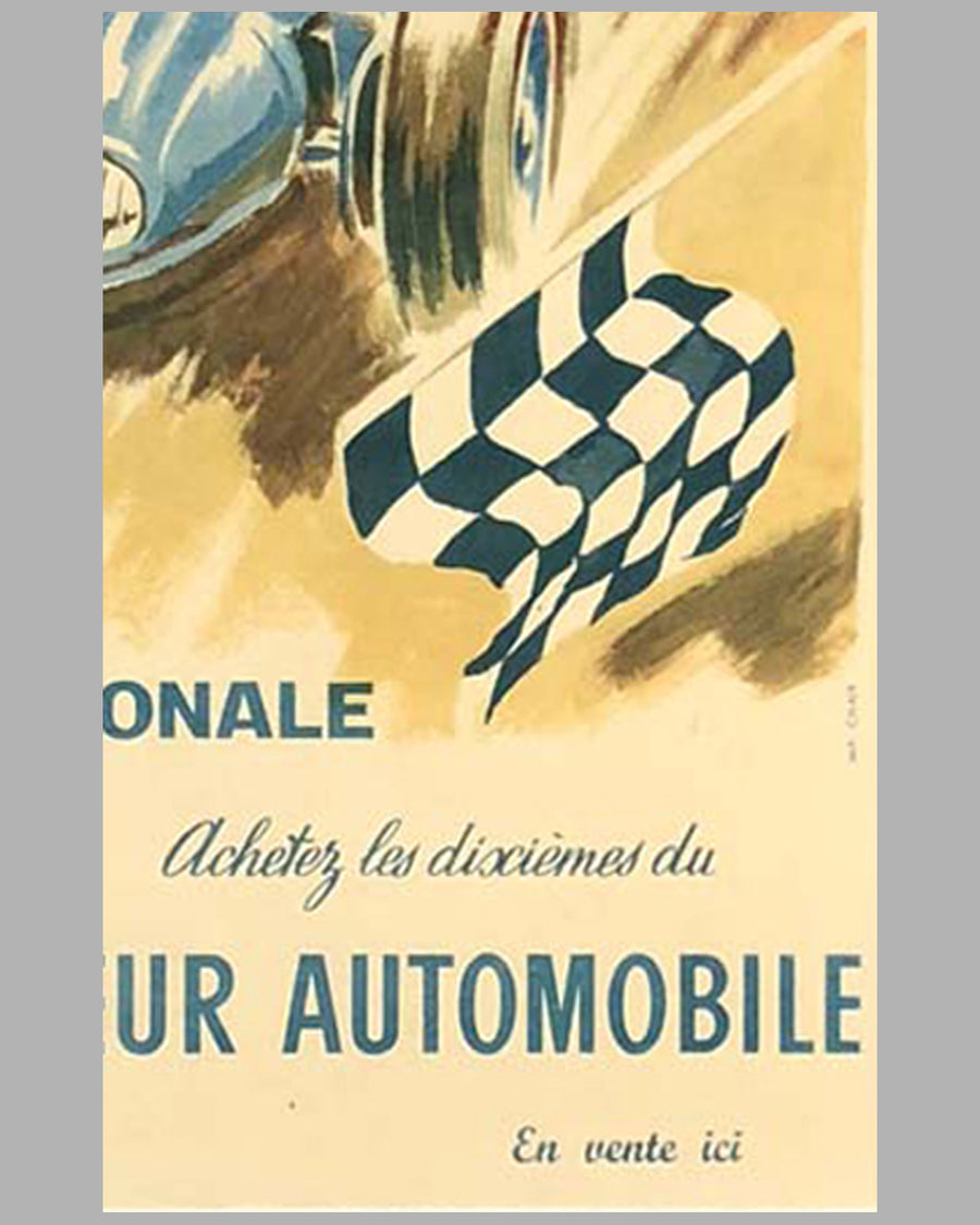 Loterie Nationale original advertising Poster by Geo Ham 6