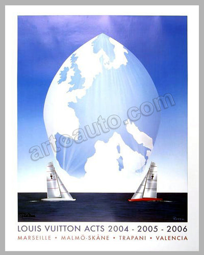 Louis Vuitton Acts 2004-2005-2006 large poster by Razzia