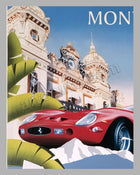 Louis Vuitton Classic Serenissima Run large original poster by Razzia