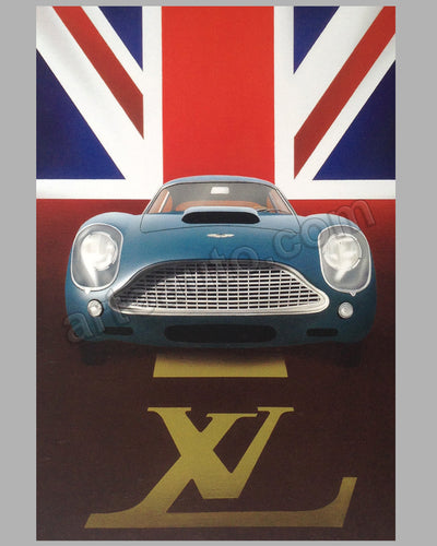 Louis Vuitton Classic 2004 Waddesdon Manor Concours d'Elegance U.K. large poster by Razzia