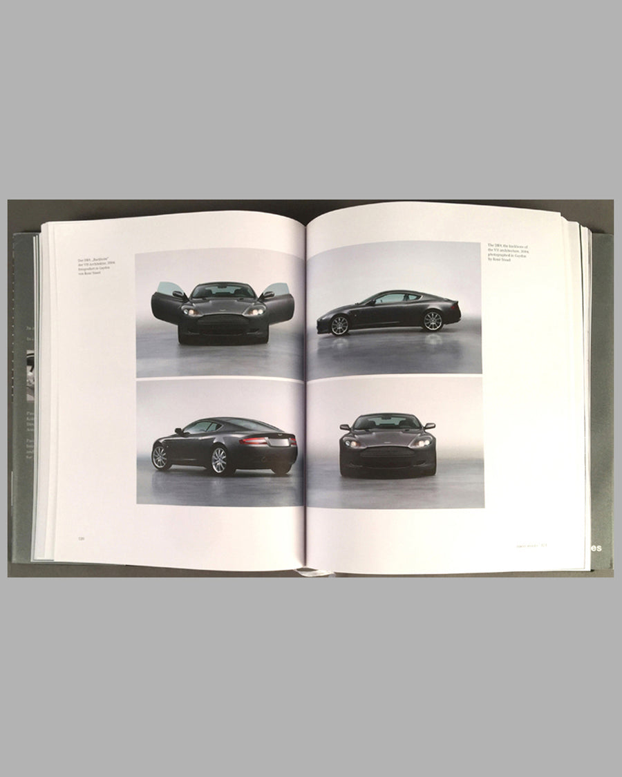 Making Aston Martin book by Ulrich Bez with Paolo Tumminelli inside 2