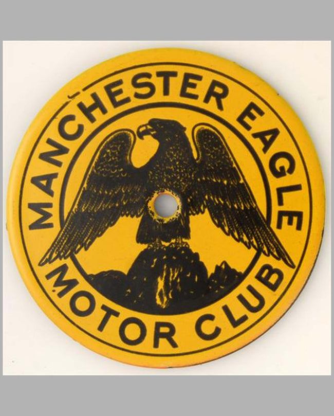 Manchester Eagle Motor Club member's badge