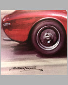 Marzotto's Ferrari 225 S print by Michael Turner 2