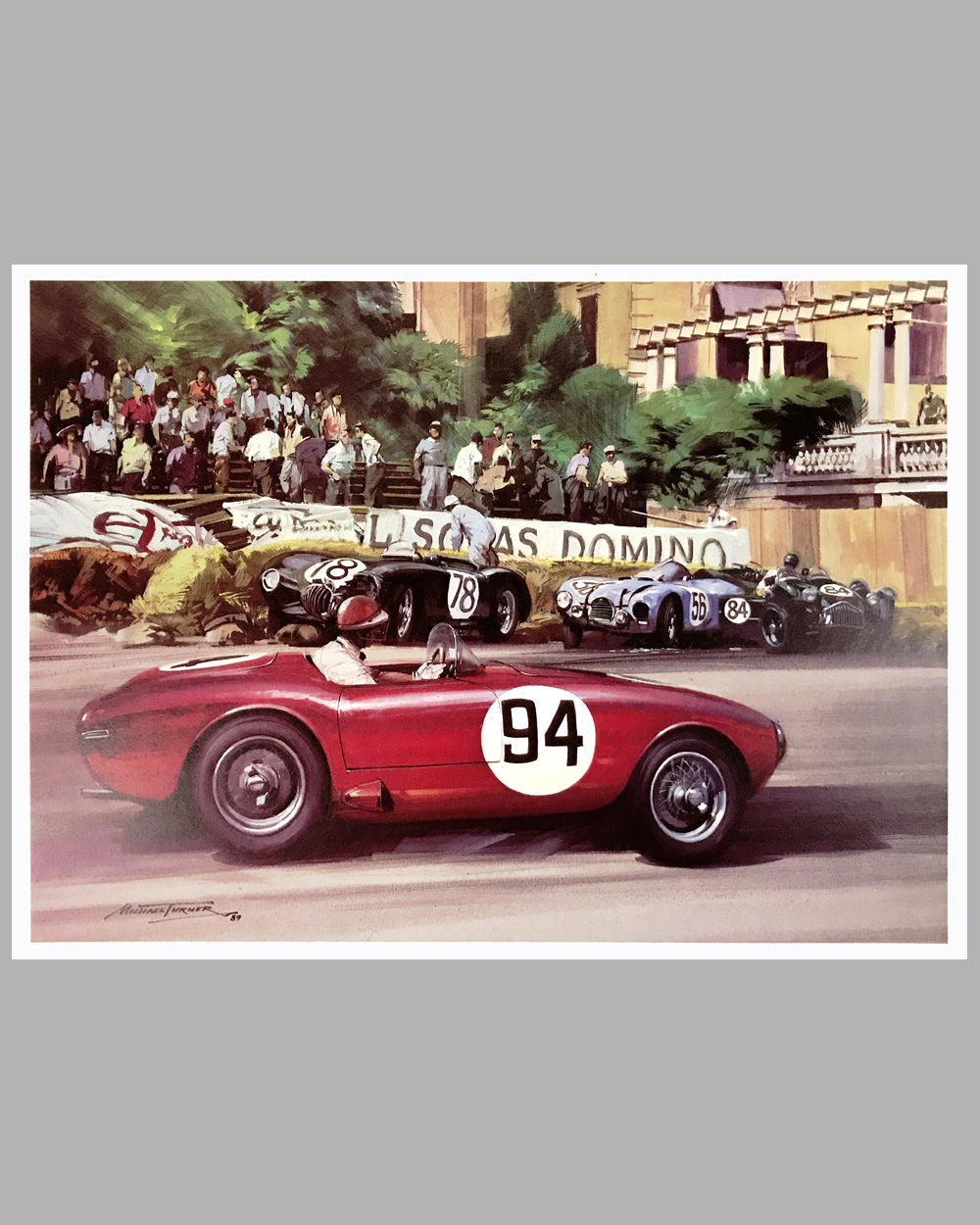Marzotto's Ferrari 225 S print by Michael Turner