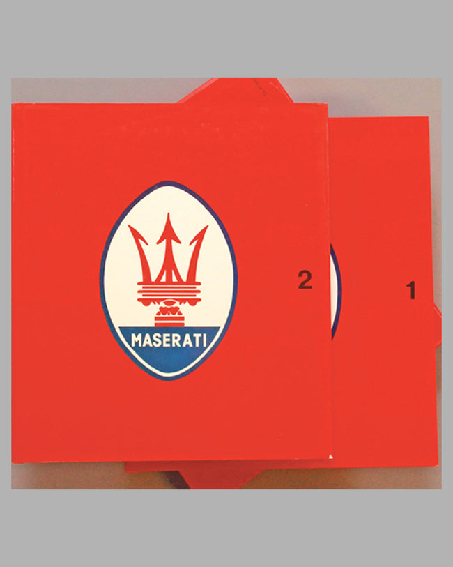 Maserati Catalog Raisonne 1926-1984 book