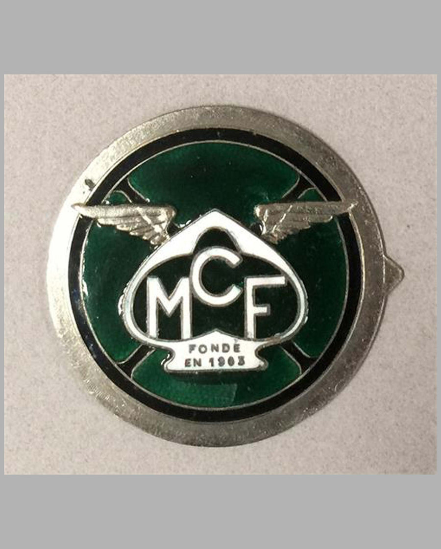 MCF (Motorcycle Club of France) badge