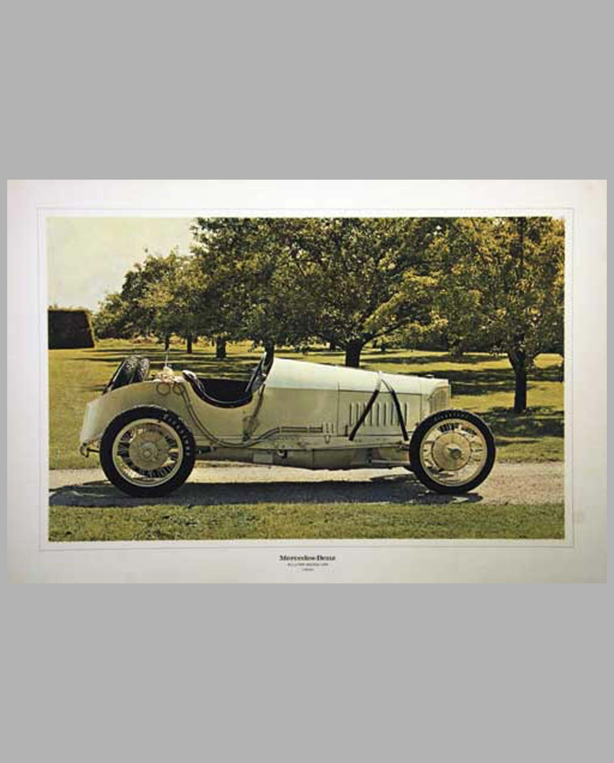 1914 Mercedes 4-1/2 Litre GP Racer photograph