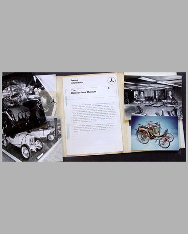 Mercedes Benz Museum press kit