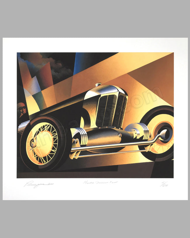 Miller Straight Eight giclée by Alain Lévesque