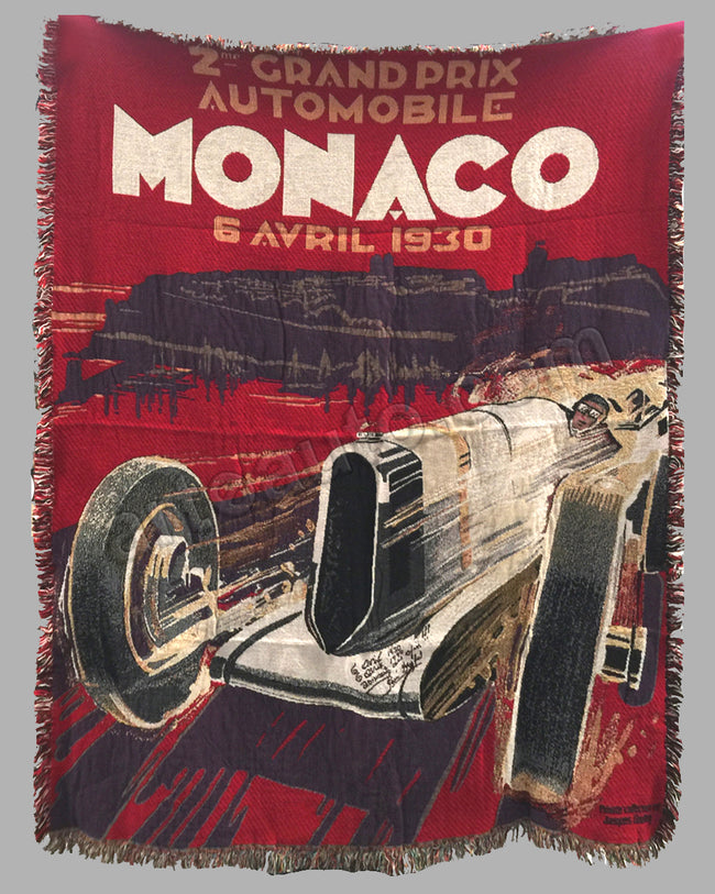 Grand Prix of Monaco 1930 large tapestry