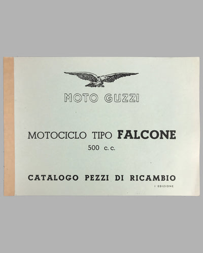 Moto Guzzi Tipo Falcone 500 c.c. instruction manual and parts catalog 7