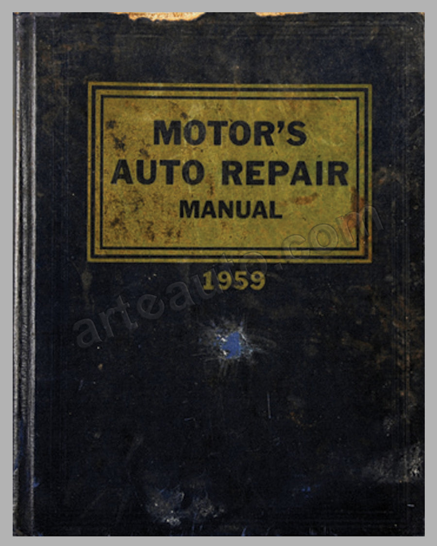 1959 Motor's Repair Manual book published by Motor Magazine