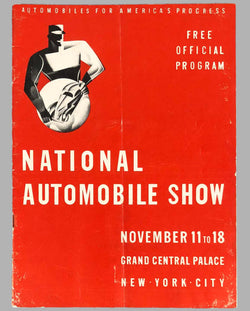 1938 New York National Automobile Show Program