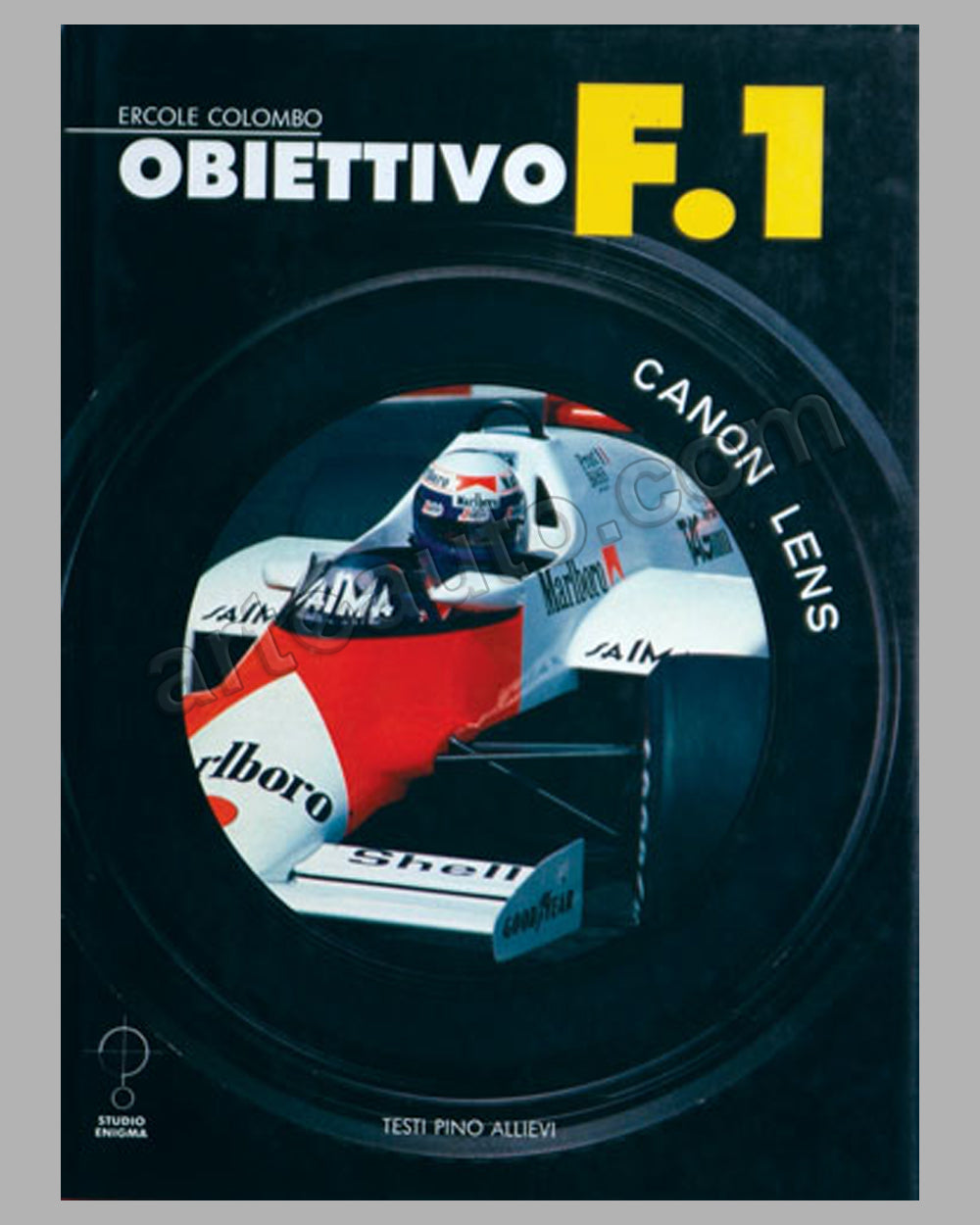1985 - Obiettivo F1 book by E. Colombo