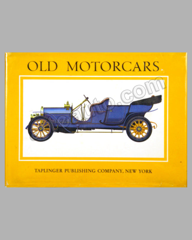 Old Motorcars large book