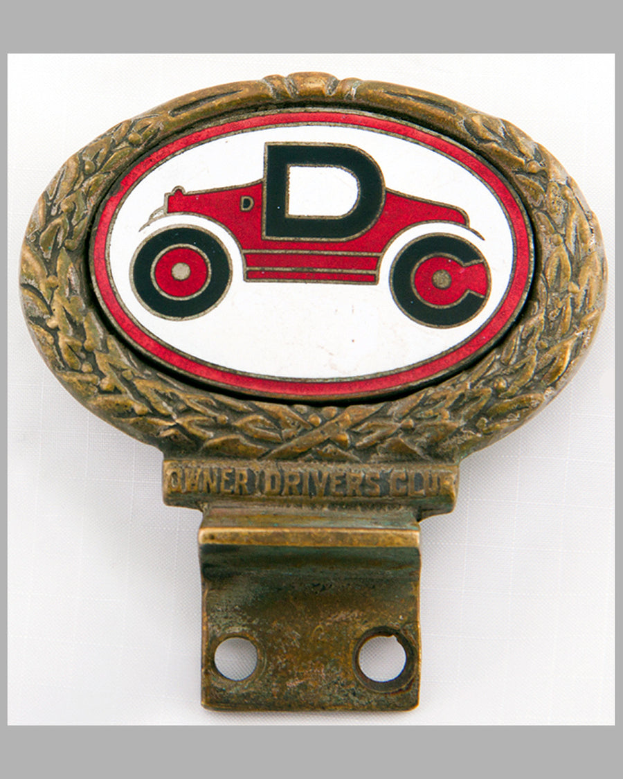 Owner Drivers Club badge by Collins