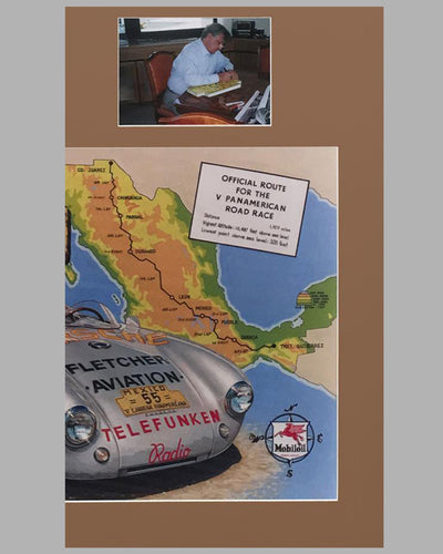 1954 Carrera Panamericana Rally Plaque