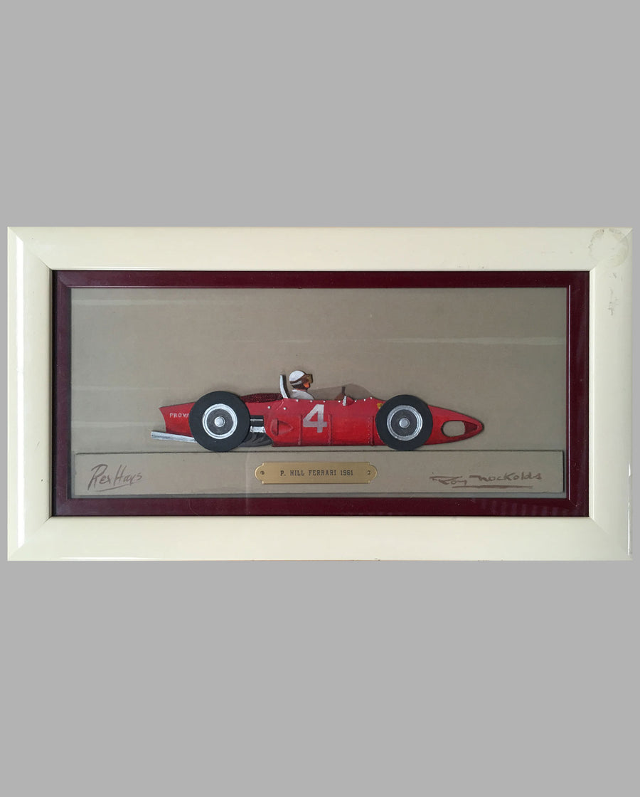 Phil Hill Ferrari Dino 156/F1, 1961, painting / sculpture