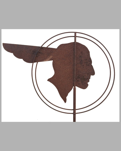 Pontiac dealers' metal weather vane