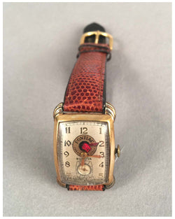 Pontiac wrist watch by Bulova, 1935