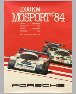 1984 1000 KM of Mosport Victory Poster