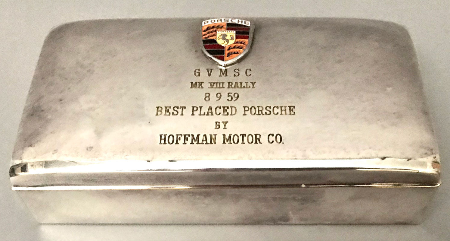 Porsche / Hoffman Motor Co., trophy cigarette case